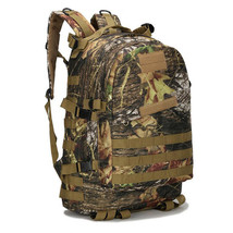 55L Outdoor Sport climbing mountaineering Backpack Camping Leaf Camouflage - $34.99