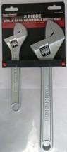 Task Force 32902 2 Piece Adjustable Wrench set - $6.93