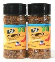 2 Count McCormick 1.8 Oz Tasty Cheesy Parmesan Red Pepper Oregano Seasoning - $15.99