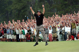 Phil Mickelson 2004 Masters TKK Vintage 28X35 Color Golf Memorabilia Photo - $45.95