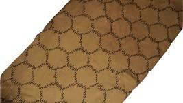 Calvin Klein King Duvet Cover Taupe Stone Reversible Honeycomb Cotton Sateen EUC - $69.27
