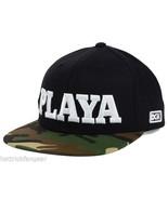 "DGK ""Playa"" Snapback Flat Bill Cap Hat  Black/Camoflage   OSFM - $20.85"