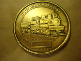 SHAY MODEL RAILROADER MEDALLION COLLECTOR'S COIN      > BAG A40  - $6.43