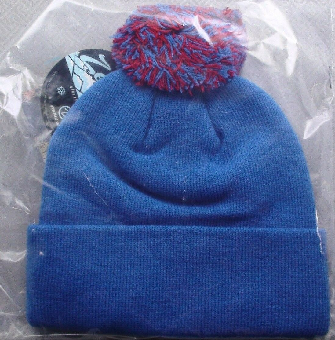 NHL Quebec Nordiques Pom Embroidered Cuff Beanie Winter Hat Mens