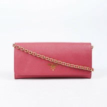 Prada Saffiano Leather Wallet on Chain - $635.00