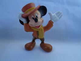 Disney 2002 PMI Mickey Mouse as Bob Cratchit Christmas Carol PVC Figure - $5.45