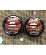 The Body Shop Born Lippy Pot Lip Balm Butter COCONUT 10 ML~2 Pack - $9.80