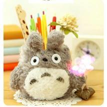 Cute Pen Holder Kawaii Pencil Organizer Home Desk Decoration Plush Deskt... - $23.04