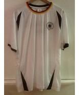 New 2016 DFB Deutscher Fussball-Bund Germany Deutschland White Jersey L NWT - $39.95