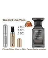 Tom Ford Oud Wood Perfume: Choose Silver / Gold Decants 2ML, 3ML, 5ML - $8.50 - $18.00