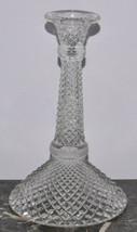 "Westmoreland Glassware English Hobnail Crystal 8.5"" Candlestick - $13.54"