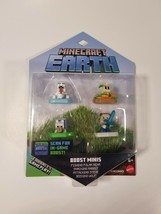 Minecraft Earth Boost Minis 4 Pack Nfc Chip Ar In-Game Boost Nip - $14.80