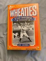 1992 Lou Gerhig New York Yankees Baseball 12 Oz Wheaties Cereal Box Opened - $12.86