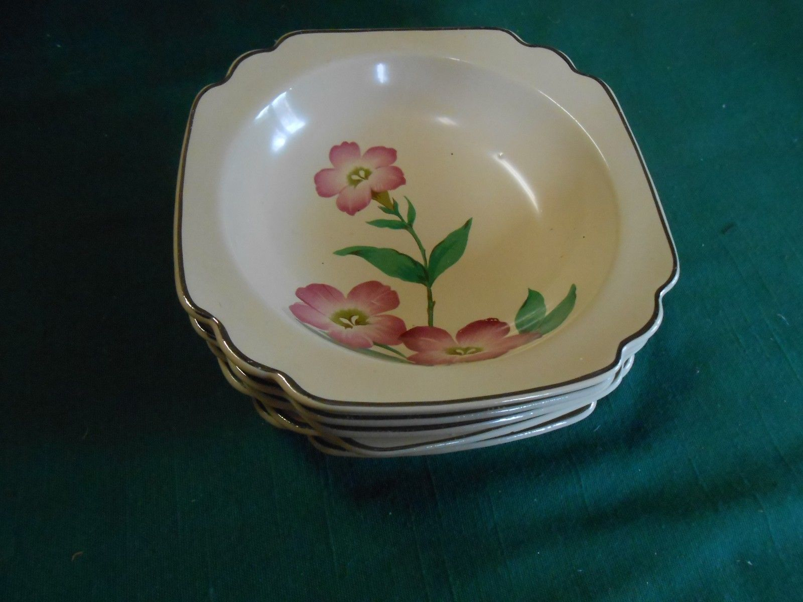 Outstanding Vintage RARE Dinnerware..MUST SEE Unmarked- .Yellow 5 berry bowls - $44.14 · Advanced search for Homer Laughlin ... & Homer Laughlin Dinnerware (1940s): 2 listings
