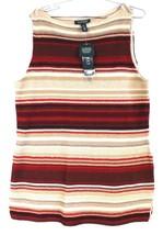 Lauren Ralph Lauren Indian Blanket Striped Knit Tunic Women's  XL NWT $1... - $57.00