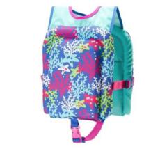 NWT Speedo Kids Life Jacket, Skeeter Lifevest, Pink One Size 30-50lbs image 2