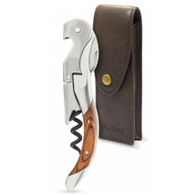 Pulltex Pulltaps Rosewood Toledo Hand Made Corkscrew with Leather Case Set - £49.90 GBP