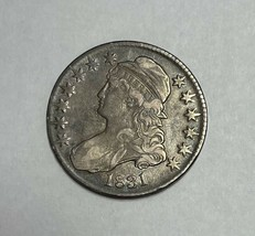 1831 Capped Bust Half Dollar Extremely Fine - $214.25