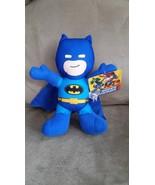 BATMAN D. C. SUPER FRIENDS BLUE Brand New Licensed Plush NWT New With Ta... - $9.99