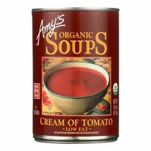 Amy's - Organic Low Fat Cream Of Tomato Soup - Case Of 12 - 14.5 Oz - $60.96