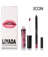 ICON Matte Lipstick Waterproof + Lip Liner Long Lasting - $7.99
