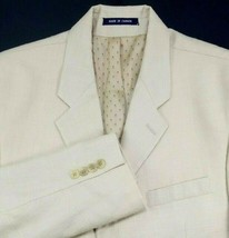 Ralph Lauren Black Label Sport Coat Size 41 Regular Beige Cotton / Linen... - $69.25