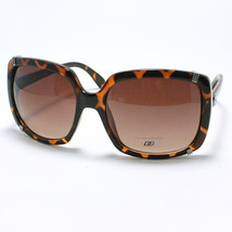 Womens Square Sunglasses Oversize Vintage Fashion Frame TORTOISE - $6.88