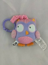 """Zobo Owl Plush Clip On Chime 4"""" Toys R Us 2016 Stuffed Animal Toy - $7.15"""