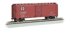 Bachmann Industries 40' Steam Santa Fe Era Box Car (HO Scale) - $21.36