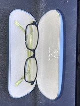 Nine West 7WV 135 301 Eyeglasses Frame Hinge Frame IP68 Green Black W/Case - $20.00