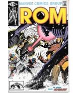 Rom Spaceknight Comic Book #18 Marvel Comics 1981 VERY FINE+ - $10.69