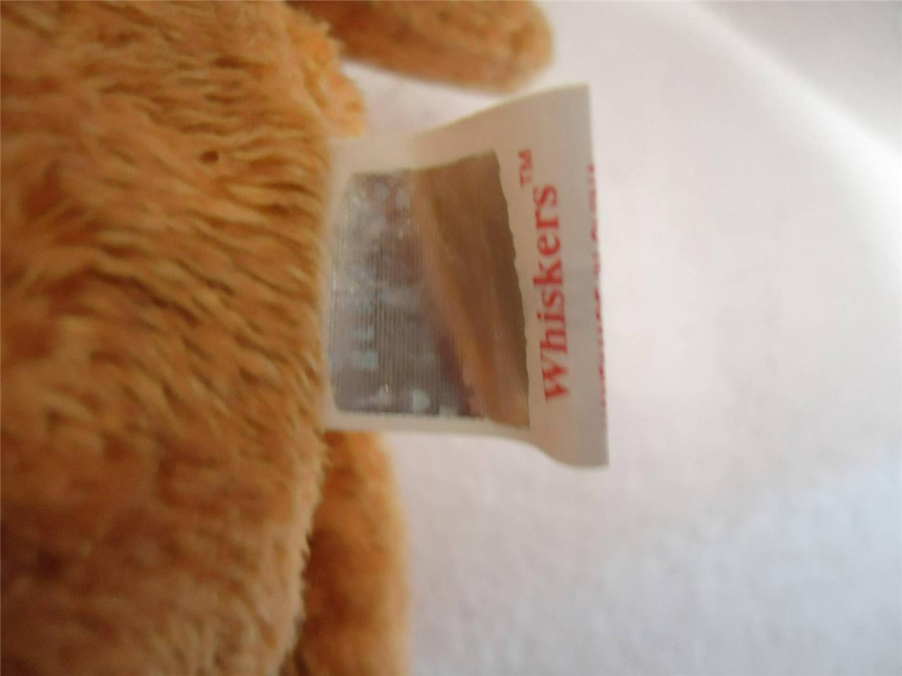 TY Beanie Baby Whiskers the Dog 2000