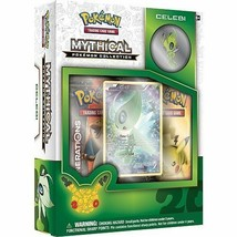 Celebi Mythical Collection Pin Box POKEMON TCG Generations Pack 20th Anniversary - $21.99