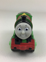 Thomas & Friends Percy Die Cast Motorized Wooden Railway Train 2002 with... - $38.27