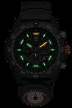 NEW Luminox 3741 Bear Grylls Survival MASTER Rubber Strap Quartz 45mm Case Watch image 2