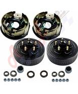 "Auto Express Trailer 5 on 4.5 Hub Drum Kits with 10"" X2-1/4 Electric Bra... - $143.80"