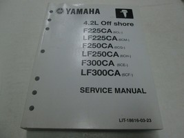 2011 Yamaha 4.2L Spento Shore Servizio Riparazione Negozio Officina Manuale - $188.39