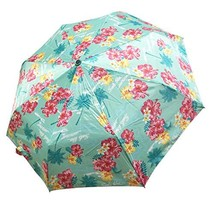 Lilac Mini Compact Travel Umbrella, Manual Open Close Windproof Waterpro... - $12.23