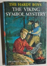 HARDY BOYS The Viking Symbol Mystery by Franklin W Dixon (c) 1963 G&D HC - $12.86