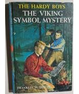 HARDY BOYS The Viking Symbol Mystery by Franklin W Dixon (c) 1963 G&D HC - $12.86