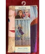 "Frozen 2 Elsa Anna Fabric Shower Curtain 72x72"" Believe In The Journey K... - $16.99"