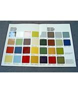 1978 Mercedes 450SL Owners sales brochure Paint color Chart w107 w123  w... - $19.79