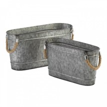 Galvanized Bucket Duo - €43,36 EUR