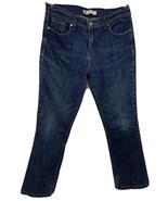 Levi 515 Boot Cut Denim Blue Jeans Woman's Size 10 Inseam 27 - $21.08
