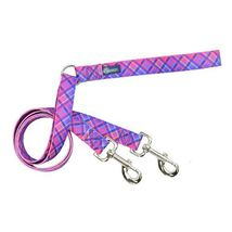 2Hounds Freedom No Pull Dog Harness XL Pink Plaid  WITH Training Leash!   image 2