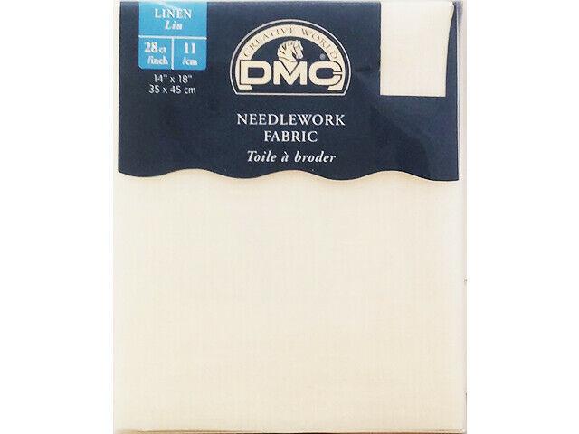 DMC Needlework Fabric, Linen, 28 Count #DC47