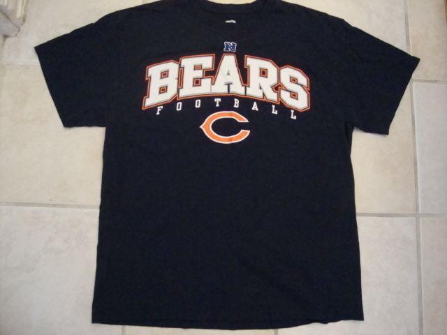 NFL Chicago Bears National Football League Fan Team Apparel Blue T Shirt L