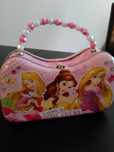"Disney ""I am a Royal Friend"" Tin Purse/Lunch Beaded Handle 2015  Tin Purse - $4.00"