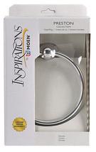 Moen  Preston  Chrome  Towel Ring  Zinc - $17.99