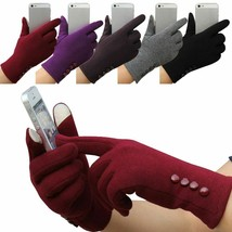 Women Winter Touchscreen Gloves Warm Mobile Phone Outdoor Gloves For Ladies - $4.90